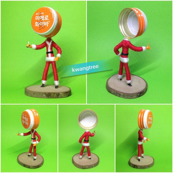 #병뚜껑아트 #병뚜껑공예 #뚜껑맨 #ビンの栓芸術 #瓶盖 #艺术 #瓶盖人 #BottleCapArt #BottleCapCrafts #산타클로스 #SantaClaus #サンタクロース #圣诞老人 #PapáNoel #SanNicolás #ViejoPascuero