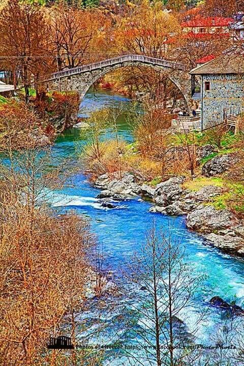 Epirus Greece Ηπειρος περιοχη Βωβουσα
