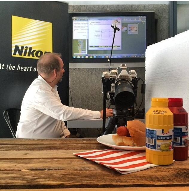 #Food #photography lessons by #Nikon with www.mamapeinao.gr at Periscope Hotel! Interesting! @Μαμα Πειναω #event #workshop #athens
