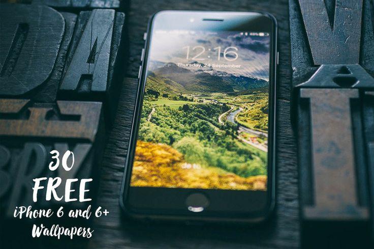 30 Free iPhone 6 & 6+ Wallpapers 30 free iPhone 6 & 6+ wallpaper images from Madebyvadim.…