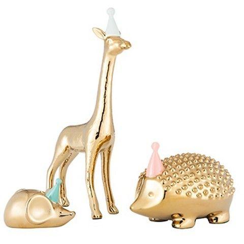 Party Hedgehog Figurine - Oh Joy!