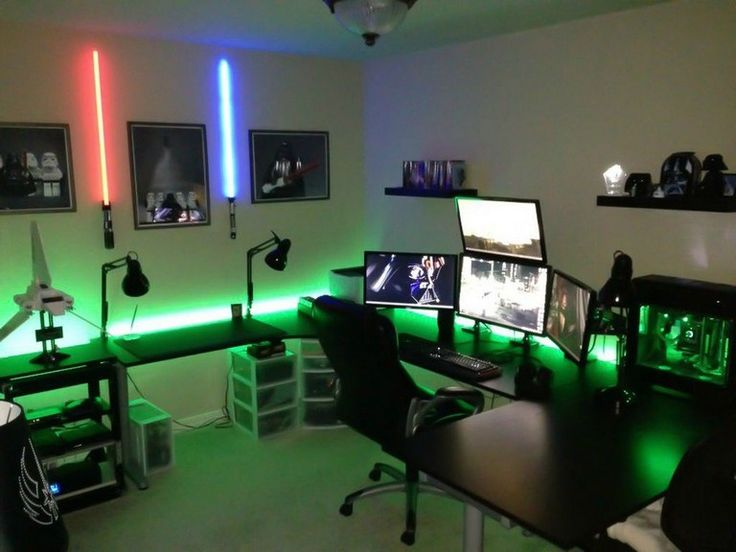 30+ Cool Ultimate Game Room Design Ideas | Gaming room ...
