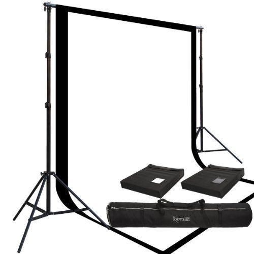 Amazon - Two Prism 10x20', 100% Cotton Muslin Backdrops and The Ravelli Full Size 10x12' Background Stand Set by Ravelli, http://www.amazon.com/dp/B002S9KTAW/ref=cm_sw_r_pi_dp_5QDTrb0HABSPN ($156.39)
