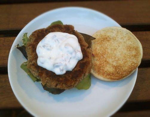 Hamburguesa de lentejas para #Mycook http://www.mycook.es/receta/hamburguesa-de-lentejas/