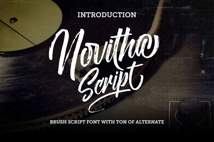 Novitha Script Free Demo