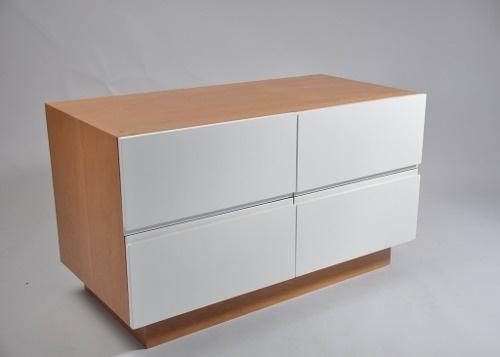 Cajonera de madera laqueada mueble de tv - Cajonera de madera ...