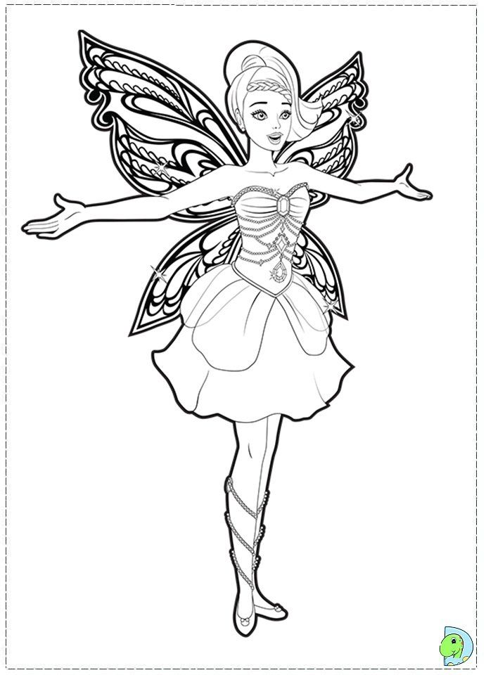 Fairy Princess Coloring Pages Fairy Coloring Pages Barbie Coloring Pages Princess Coloring Pages