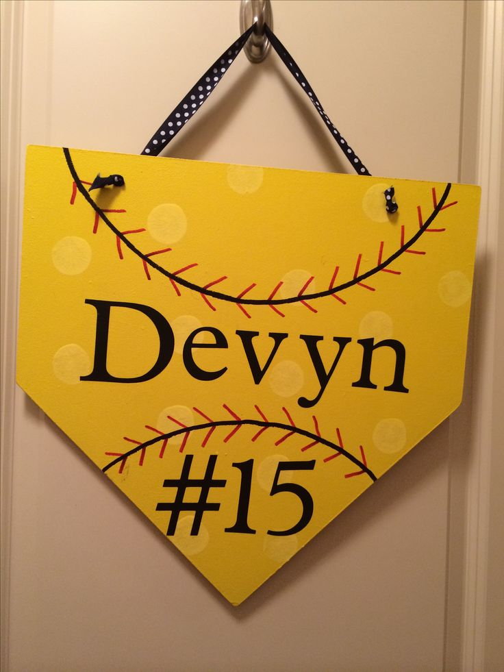 25 Best Ideas About Softball Gifts On Pinterest