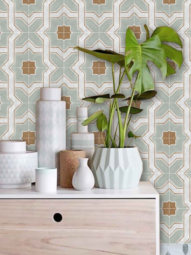 Moroccan Lattice Removable Wallpaper