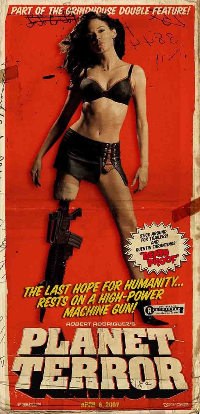 """Grindhouse (Planet Terror)"" (2007). DIRECTOR: Robert Rodriguez."