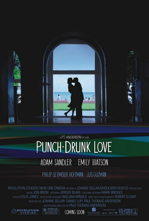 Punch-Drunk Love - An absolutely lovely and heartfelt love story, packed with Adam Sandler's perfectly idiosyncratic performance and some of the best audio-visual techniques I've seen used in a while. (8.5/10)