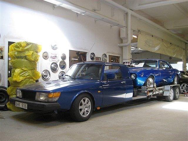 Saab car transporters (Solstad)   Retro Rides