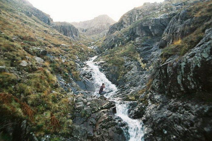 Красоты северной страны Шотландии... Пленочные фотографии Данка и Питер (Danka & Peter)