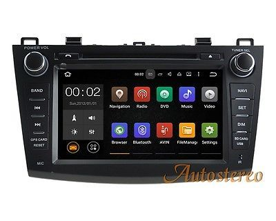 Quad-Core Android 5.1 Car DVD GPS Navi Multimedia system for Mazda 3 2009-2013
