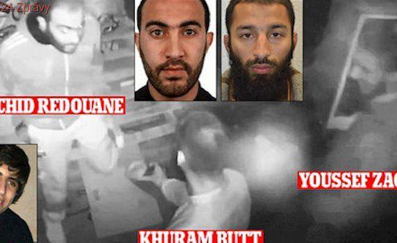 Smích a objímání: Kamery zachytily tři teroristy 5 dní před útokem v Londýně