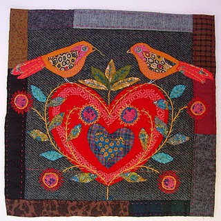 Love the works of textile artist Mandy Patullo.