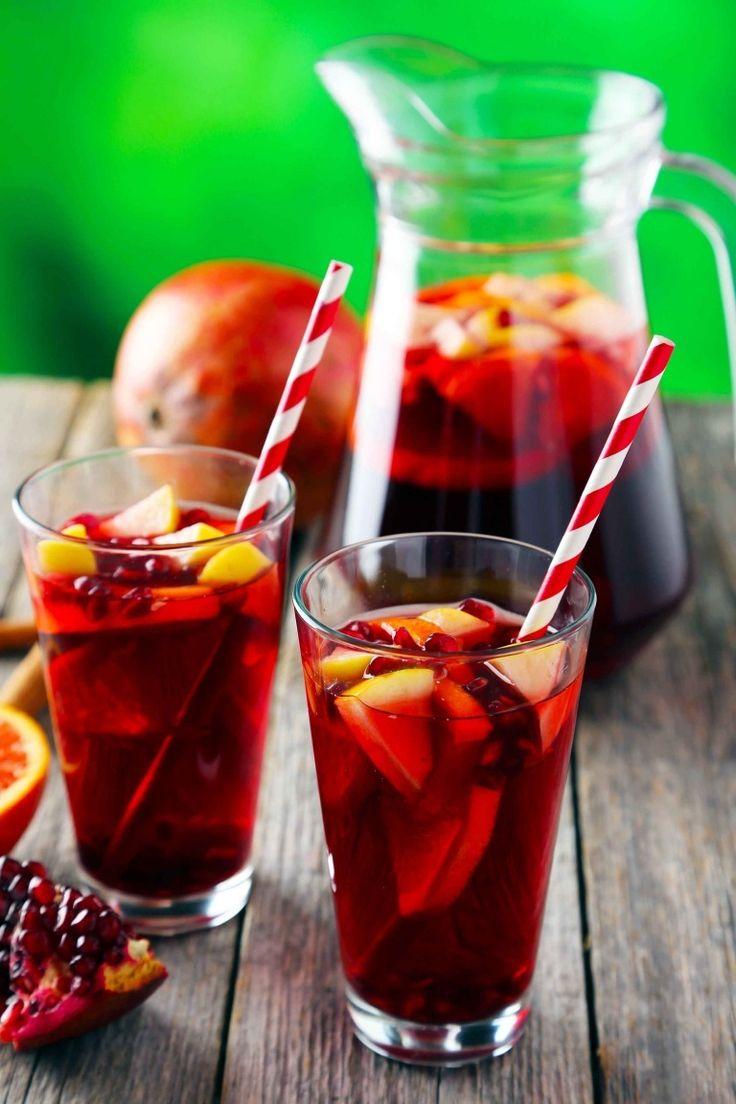 Sangria Recipe Spanish Sangria Recipe With Apple Peaches And Cinnamon Cooking Recipes Sangria Recipes Recipes