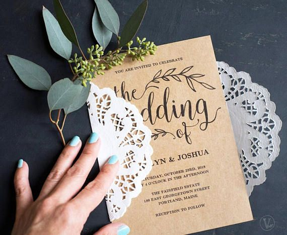 This wedding invitation template set includes five high-resolution templates: invitation card, rsvp card, details card, monogram and date seal/tag templates. These are INSTANT DOWNLOAD printable wedding invitation templates that are affordable and stylish. You can edit and print as many