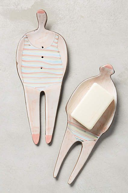Swimmer Trinket Dish - anthropologie.com