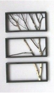 DIY Wall Art with Branches
