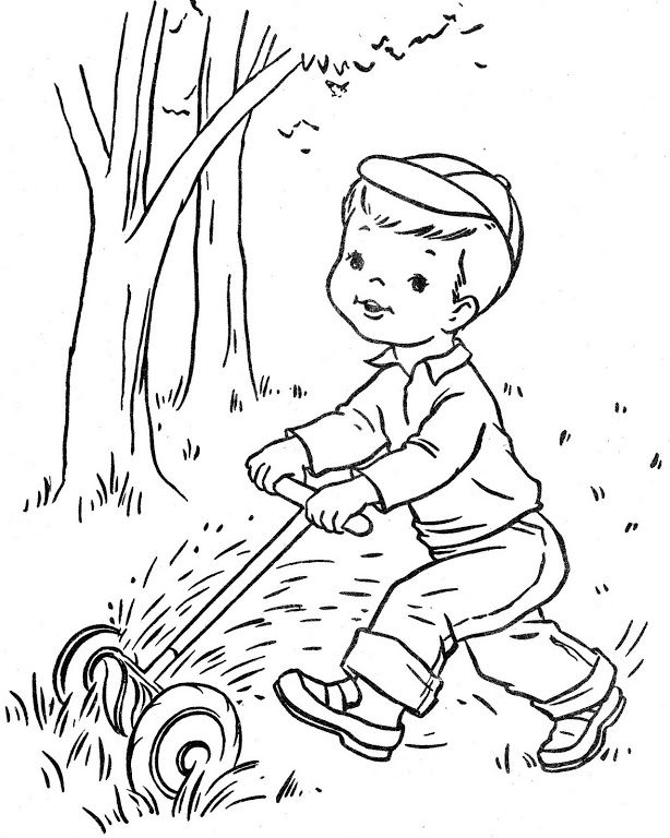 adult coloring pages outdoors - photo#32