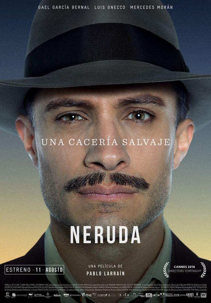 Chile, 1948. El Senador Pablo Neruda acusa al gobierno de traicionar al Partido Comunista y es desaforado por el Presidente González Videla, quien ordena al prefecto de la Policía de Investigaciones que arreste al poeta. Neruda, ante la imposibilidad de salir del país, se ve forzado a vivir en clandestinidad. Mientras tanto, en Europa, la leyenda del poeta fugitivo crece y los artistas, liderados por Pablo Picasso, claman por su libertad. Pero Neruda ve la posibilidad de reinventarse con…