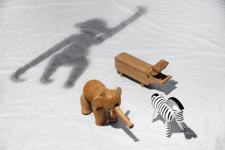 conceptbook 2016 topic: playful surprises // Kay Bojesen Denmark monkey, elephant, zebra, hippo