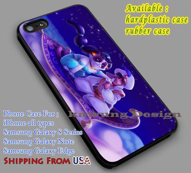 Grumpy Cat and Aladin | Disney iPhone 6s 6 6s  6plus Cases Samsung Galaxy s5 s6 Edge  NOTE 5 4 3 #cartoon #animated #aladdin #disney dl2