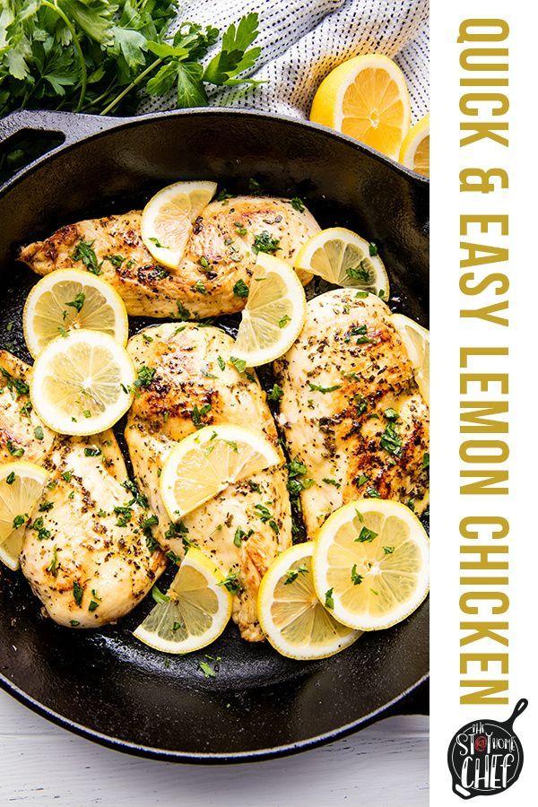 Quick And Easy Lemon Chicken Recipe Lemon Chicken Recipe Easy Lemon Chicken Recipe Grilled Chicken Recipes
