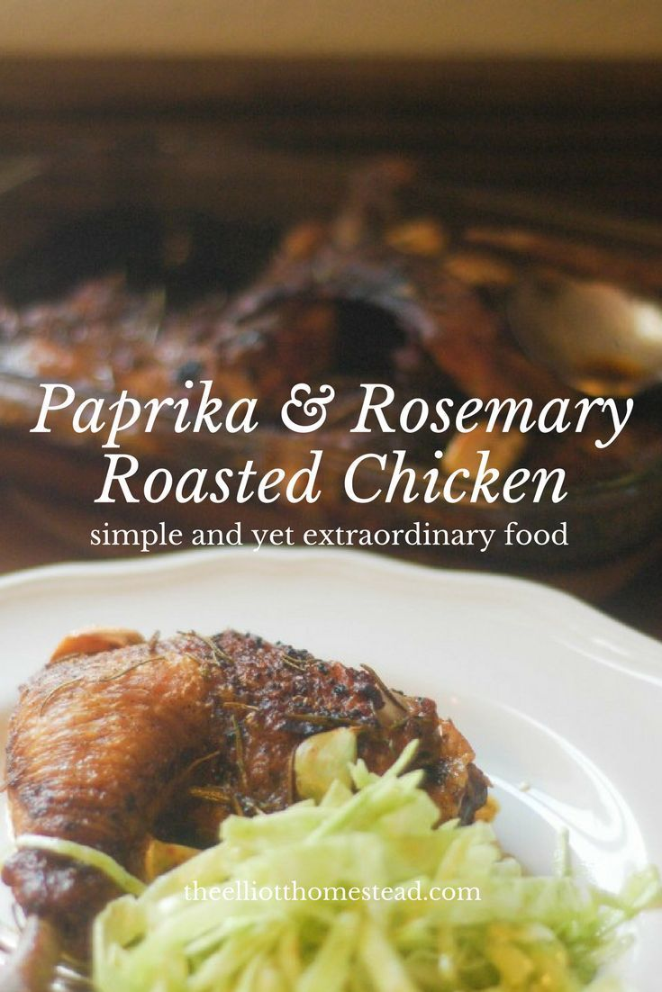 Paprika and Rosemary Roasted Chicken Recipe