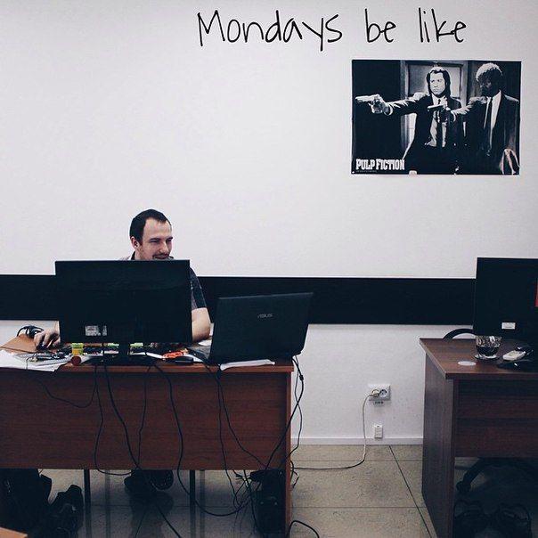 Keep calm and love your job.