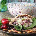 Honey Pecan Cherry Chicken Salad #MealsTogether #shop #cbias #recipe @TysonFoods