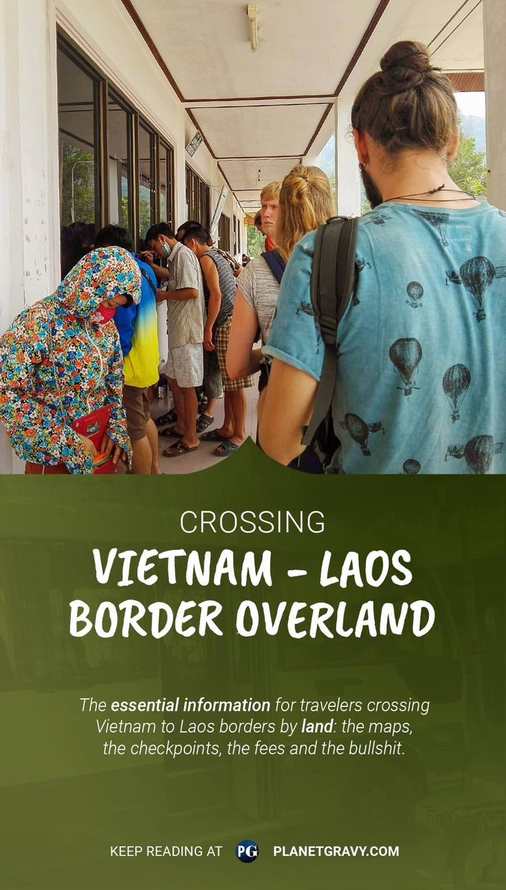 Vietnam scrapbook ideas - All The Essential Information For Crossing Vietnam To Laos Borders By Land The Maps
