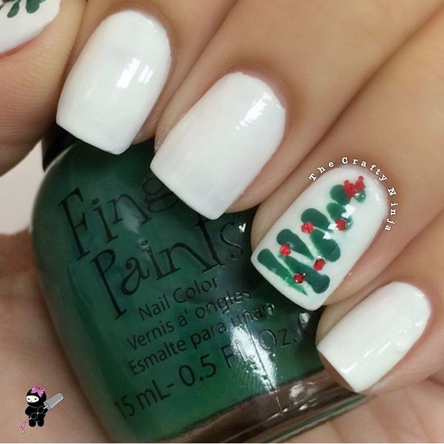 160 mejores imágenes de Tips: Nails For Christmas/Winter en ...