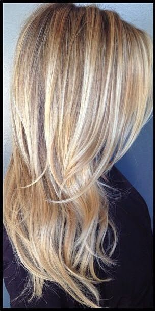 Love this! I've definitely been adding more definition in my hair just not so dark blonde but rather medium blonde :)   See more http://www.womensandmenshairstyle.net/ #PinsByDennis
