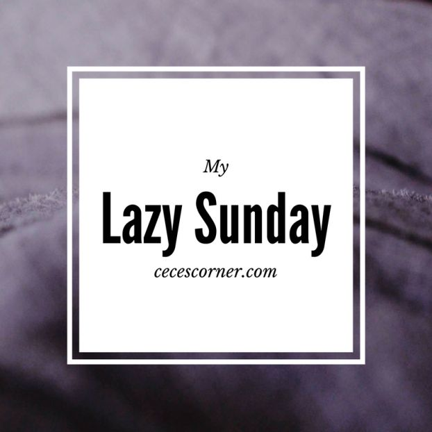 My Lazy Sunday