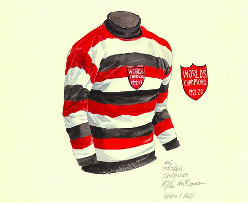 Ottawa Senators 1922-23 sweater