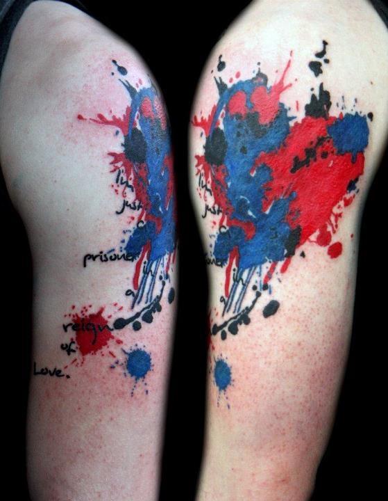Ink Splatter by Tattoo Boogaloo   Tattoos I