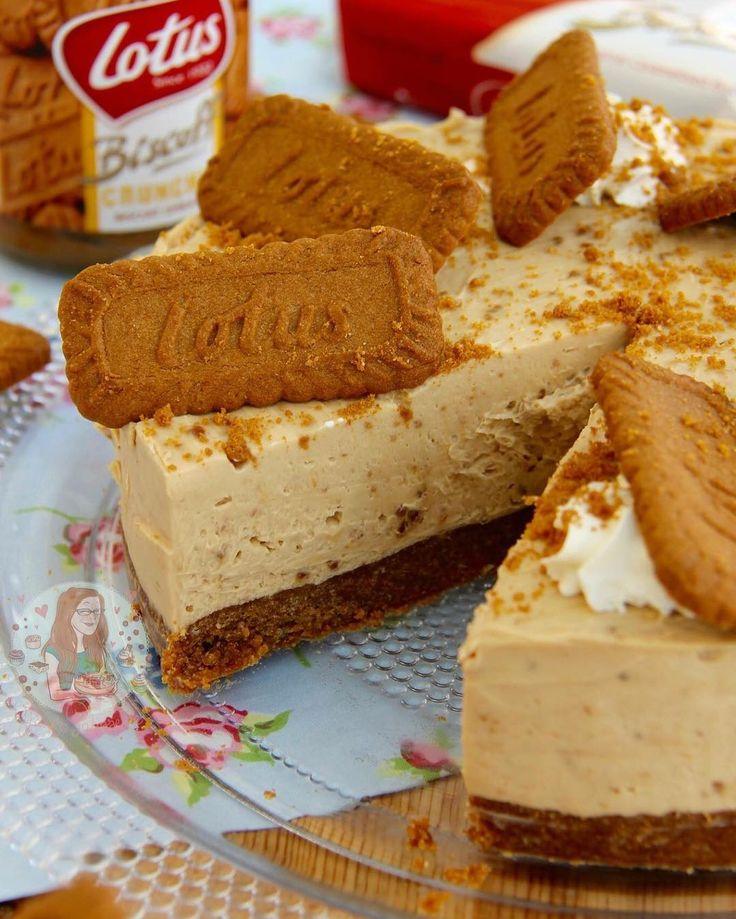 NoBake Biscoff Cheesecake!  Heavenly dessert for all the Lotushellip