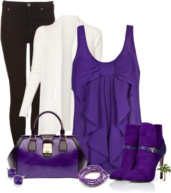 """Purple"" by cindycook10 on Polyvore"