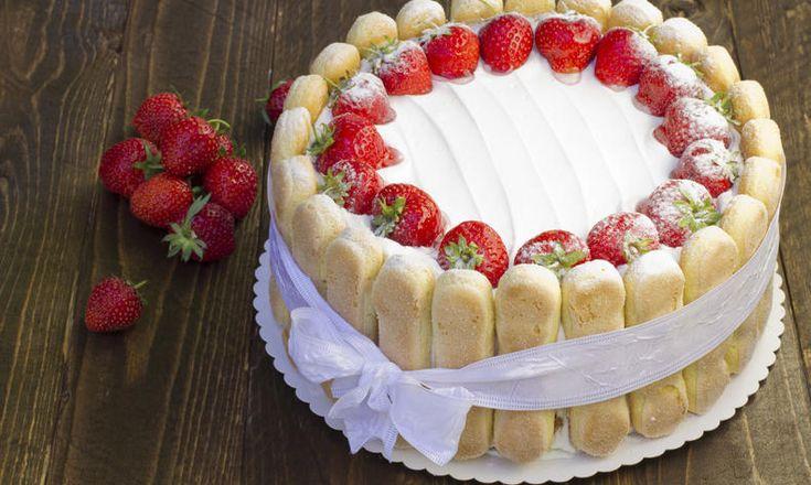 Smetanový nepečený dort bez lepku