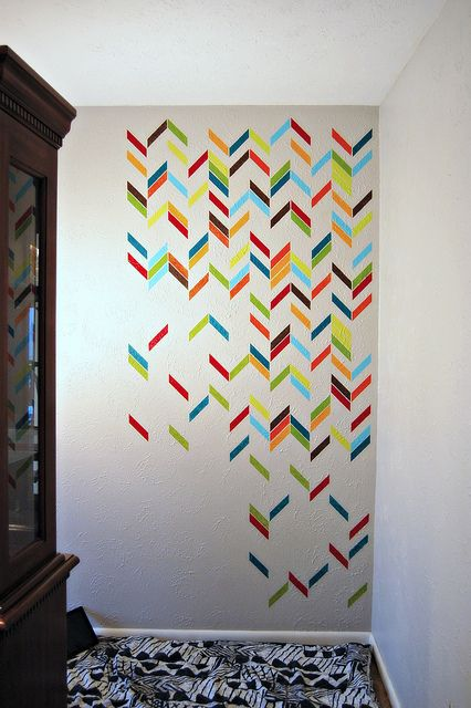 Wall Decoration Tape : Best washi tape wall ideas on