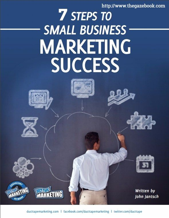 7 Steps to Small Business Marketing Success cover