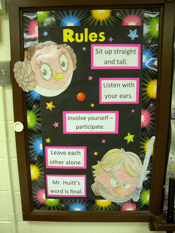 Classroom Ideas Elementary ~ Music classroom bulletin boards star wars angry bird