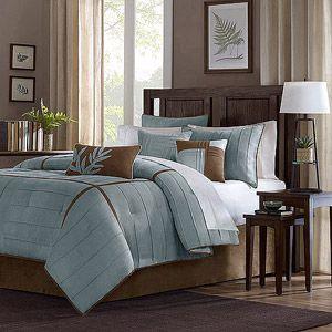 Home Essence 7-Piece Baker Bedding Comforter Set