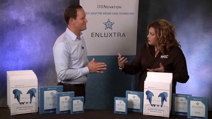 """ENLUXTRA Self-Adaptive Wound Dressing - With Nancy Morgan Part 2 - The Wound Care Education Institute's Co-Founder Nancy Morgan discusses ENLUXTRA Self-Adaptive Wound Dressing with Steve Brooks, Senior VP of OSNovation Systems, Inc., the manufacturer of the first """"intelligent"""" wound dressing in the history of wound care."""