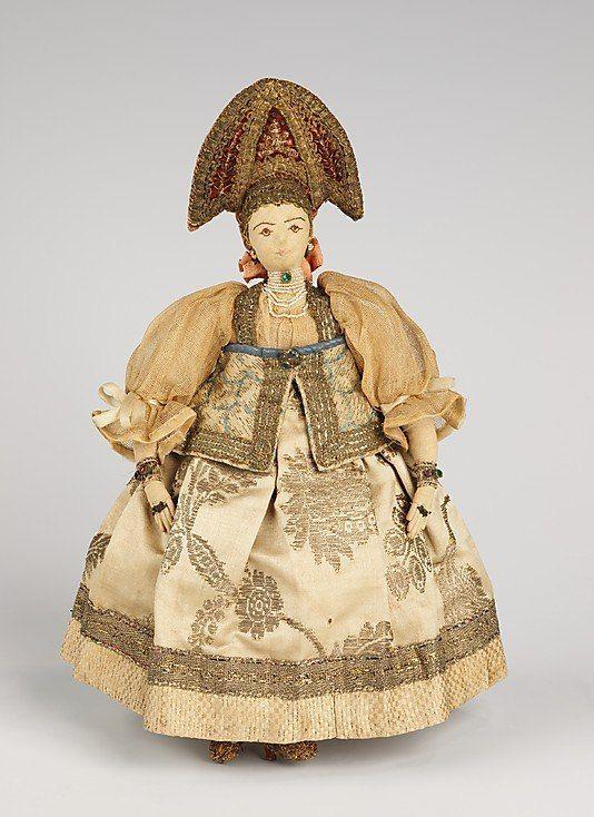 Кукла из коллекции Натальи Леонидовны Шабельской (1841-1905)