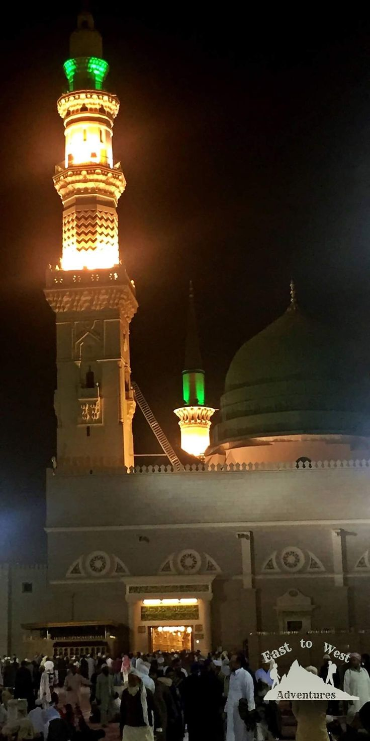 Blessed Friday from Madina جمعة مباركة من المدينة المنورة  http://www.easttowestadventures.com/en/two-days-medina/  #easttowestadventures #travelblogger #travelphotography #travel #travelphotographer #saudiarabia #saudi #madinah #madina  #masjid #تصويري #مدونة #سفر #سافر #مسافرون #مسافرون_العرب #مغامرات_من_الشرق__الى_الغرب #السعودية #العمرة #المدينة_المنورة #masjidnabwi