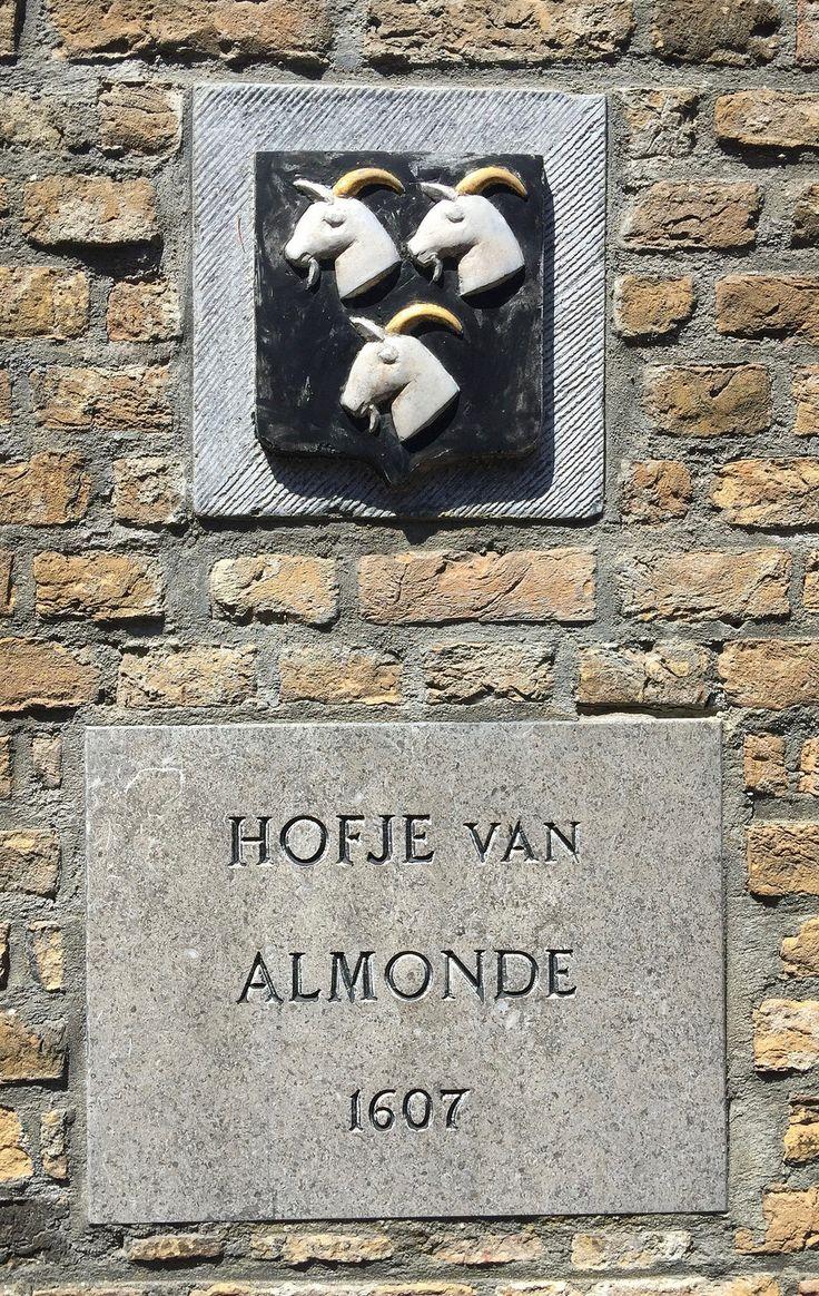 Hofje van Almonde, Delft, Zuid-Holland.