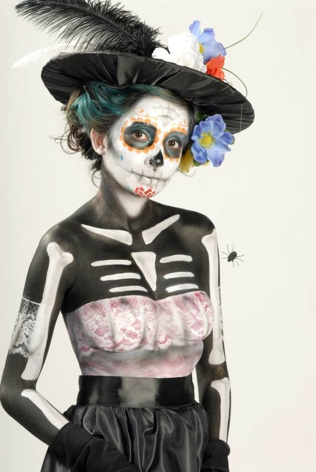 22 best Day of the Dead Makeup images on Pinterest | Halloween ...